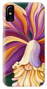Ribbon Orchid IPhone Case