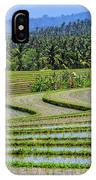 Rice Fields, Bali, Indonesia IPhone Case
