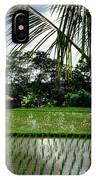 Rice Fields Bali IPhone Case