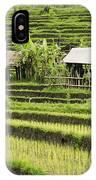 Rice Fields In Bali Indonesia IPhone Case