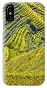 Rice Fields Terraces IPhone Case