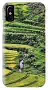 Rice Fields Vietnam IPhone Case