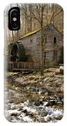 Rice Grist Mill And Threshing Barn  IPhone Case