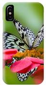 Rice Paper Butterflies IPhone Case