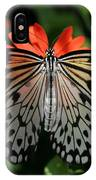 Rice Paper Butterfly Elegance IPhone Case