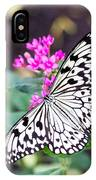 Rice Paper Butterfly Opulent Amenities 2 IPhone Case