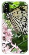 Rice Paper On Flower IPhone Case
