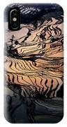 Rice Terrace Field Of Yuan Yang IPhone Case