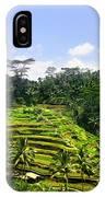 Rice Terrace In Bali IPhone X Case
