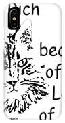 Rich Because Of The Love Of A Cat IPhone Case