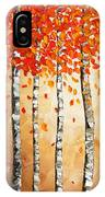 Rich Trees IPhone Case
