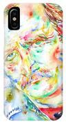 Richard Brautigan  IPhone Case