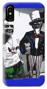 Richard Nixon Masks Uncle Sam Collage  Democratic National Convention Miami Beach Florida 1972-2008 IPhone Case