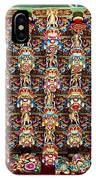 Richly Decorated Temple Ceiling IPhone Case