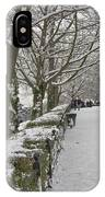 Richmond Hill Snow IPhone Case