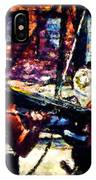 Rick And Daryl Clearing The Courtyard IPhone Case