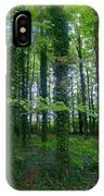 Ridgeway Trees IPhone Case