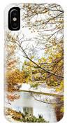 Riga Central Park IPhone Case