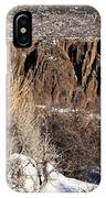 Rim Of The Black Canyon IPhone Case