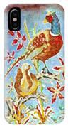 Ringneck Pheasants IPhone Case