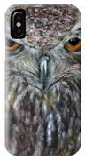 Rings Of Fire, Owl IPhone Case