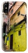 Rio De Janeiro Brazil -  Favela Housing IPhone Case
