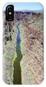 Rio Grande Gorge IPhone Case