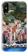 Riomaggiore Glory- Cinque Terre IPhone Case