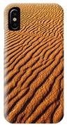 Ripple Patterns In The Sand 1 IPhone Case