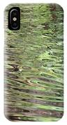 Ripples On Florida River IPhone Case