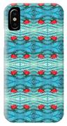 Rippling Red Maple Leaf IPhone Case