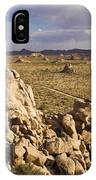 Rise Of Gneis Rock Formations IPhone Case