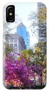 Rittenhouse Square In Springtime IPhone Case