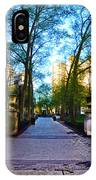 Rittenhouse Square Park IPhone Case