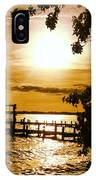 River Acres Jaynes Sunset IPhone X Case
