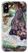 River And Plane Tree IPhone Case