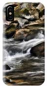 River And Rocks IPhone Case