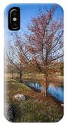 River And Winter Trees IPhone Case