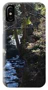 River Beneath The Trees IPhone Case