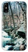 River Flowing Through A Valley, Hudson IPhone Case