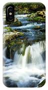 River Flowing Through Woods IPhone Case