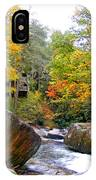 River House In The Fall IPhone Case