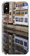 River Onyar Girona Spain IPhone Case