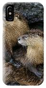 River Otter Trio   #0922 IPhone Case