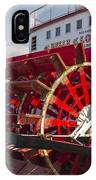 River Paddle Steamer IPhone Case