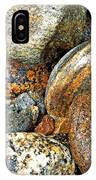 River Rocks 11 IPhone Case