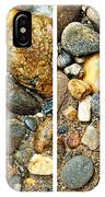 River Rocks 17 In Stereo IPhone Case