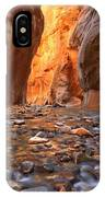 River Rocks In The Narrows IPhone Case