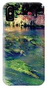 River Sile In Treviso Italy IPhone Case