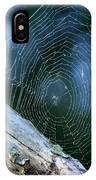River Spider Web   IPhone Case